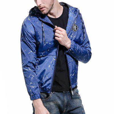 Camouflage Printed Jacket Men Hooded Sports Jacket Outdoor Sunscreen WindbreakerMens Jackets &amp; Coats<br>Camouflage Printed Jacket Men Hooded Sports Jacket Outdoor Sunscreen Windbreaker<br><br>Clothes Type: Jackets<br>Collar: Hooded<br>Material: Polyester<br>Package Contents: 1 x jacket<br>Season: Fall<br>Shirt Length: Regular<br>Sleeve Length: Long Sleeves<br>Style: Fashion<br>Weight: 0.5000kg