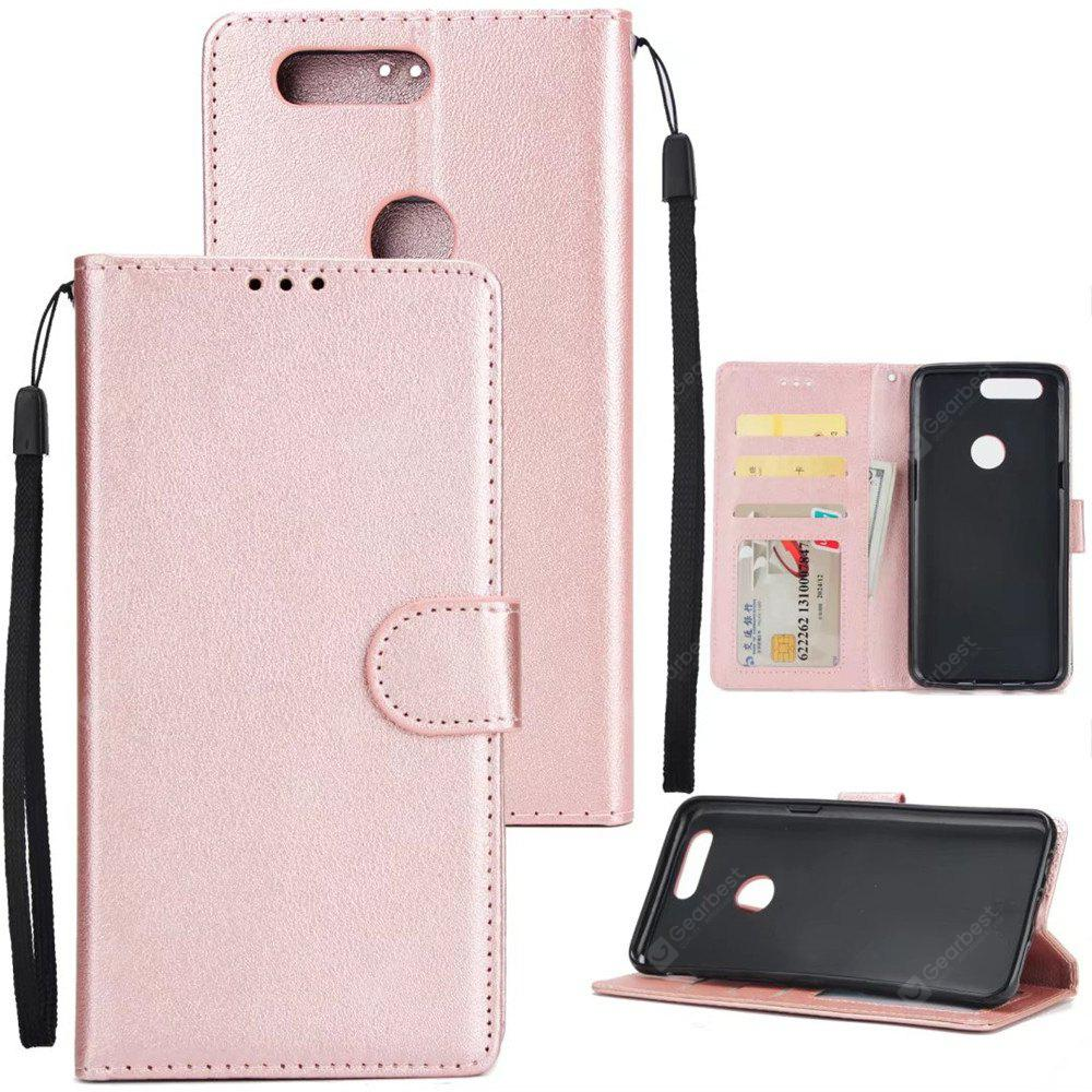 Cover Case  for One Plus 5T Flip Wallet PU Leather  Magnetic Fundas Silicone