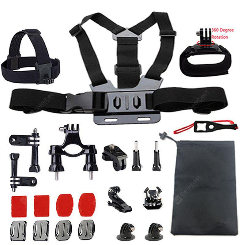 Accessories Set Support for GoPro Hero 6/5/4/3/2 Kit Mount for GoPro SJ5000 Eken/SOOCOO/Xiaomi Yi 4k Camera