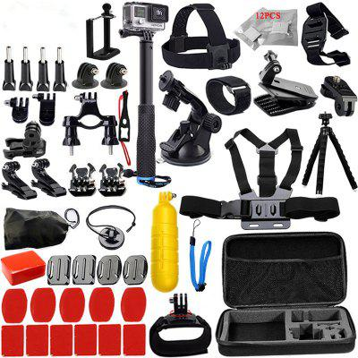 Accessories Set Support for GoPro Case Chest Belt Head Mount Strap for GoPro Hero 6/5/4/3/2/1/EKEN/SJ5000 Kit