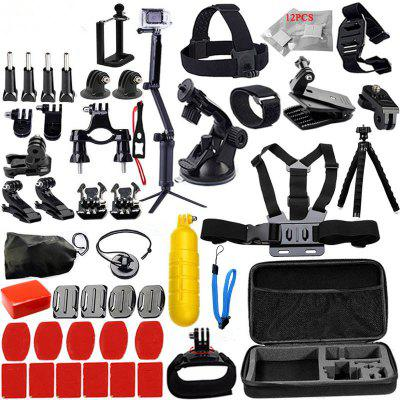 Accessories Set for GoPro Hero 6/5/4/3 Kit Mount for SJCAM for SJ4000/for XiaoMi Yi/for Eken H9r