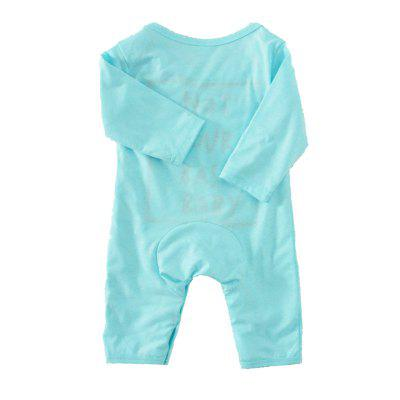 SOSOCOER Newborn Infant Bodysuits Letters Printed Long Sleeved Blue Romperbaby rompers<br>SOSOCOER Newborn Infant Bodysuits Letters Printed Long Sleeved Blue Romper<br><br>Brand: SOSOCOER<br>Closure Type: Pullover<br>Collar: Round Neck<br>Color: Blue<br>Decoration: Pattern<br>Gender: Unisex<br>Material: Cotton<br>Package Contents: 1 x Romper<br>Pattern Style: Letter<br>Season: Spring<br>Sleeve Length: Full<br>Sleeve Style: Regular<br>Style: Contracted<br>Thickness: General<br>Weight: 0.1300kg