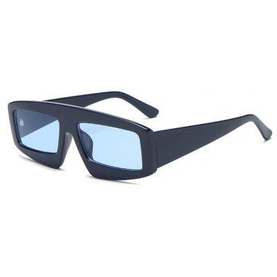 Vintage Square Goggles Sunglasses Mujeres Hombres