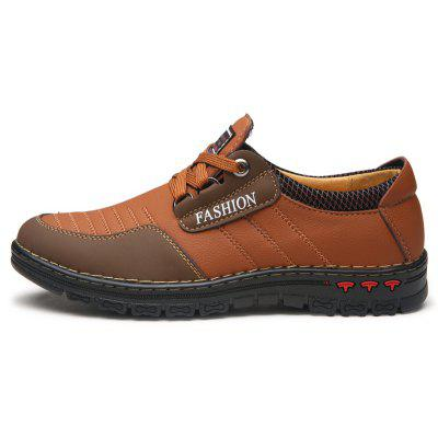 Men Casual Trend for Fashion Outdoor Hiking Sport Flat Leather ShoesCasual Shoes<br>Men Casual Trend for Fashion Outdoor Hiking Sport Flat Leather Shoes<br><br>Available Size: 38-43<br>Closure Type: Lace-Up<br>Embellishment: None<br>Gender: For Men<br>Outsole Material: Rubber<br>Package Contents: 1x shoes pair<br>Pattern Type: Solid<br>Season: Spring/Fall<br>Toe Shape: Round Toe<br>Toe Style: Closed Toe<br>Upper Material: Leather<br>Weight: 1.2000kg