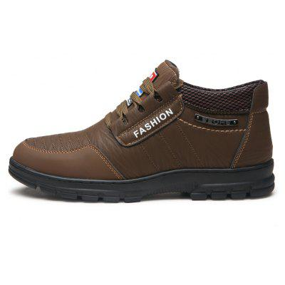 Men Casual Trend for Fashion Hiking Outdoor Sport Flat Leather ShoesCasual Shoes<br>Men Casual Trend for Fashion Hiking Outdoor Sport Flat Leather Shoes<br><br>Available Size: 38-43<br>Closure Type: Lace-Up<br>Embellishment: None<br>Gender: For Men<br>Outsole Material: Rubber<br>Package Contents: 1x shoes pair<br>Pattern Type: Solid<br>Season: Spring/Fall<br>Toe Shape: Round Toe<br>Toe Style: Closed Toe<br>Upper Material: Leather<br>Weight: 1.2000kg