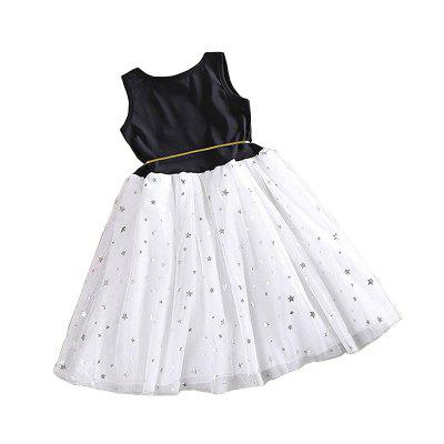Smart Baby Girl Clothes Sequins Stars Tulle Skirts One Piece Tutu DressGirls dresses<br>Smart Baby Girl Clothes Sequins Stars Tulle Skirts One Piece Tutu Dress<br><br>Dresses Length: Knee-Length<br>Elasticity: Elastic<br>Embellishment: Sashes<br>Fabric Type: Worsted<br>Material: Cotton<br>Neckline: Round Collar<br>Package Contents: 1 x Girl Dress<br>Pattern Type: Star<br>Season: Summer<br>Silhouette: Ball Gown<br>Sleeve Length: Sleeveless<br>Style: Casual<br>Weight: 0.2500kg<br>With Belt: Yes