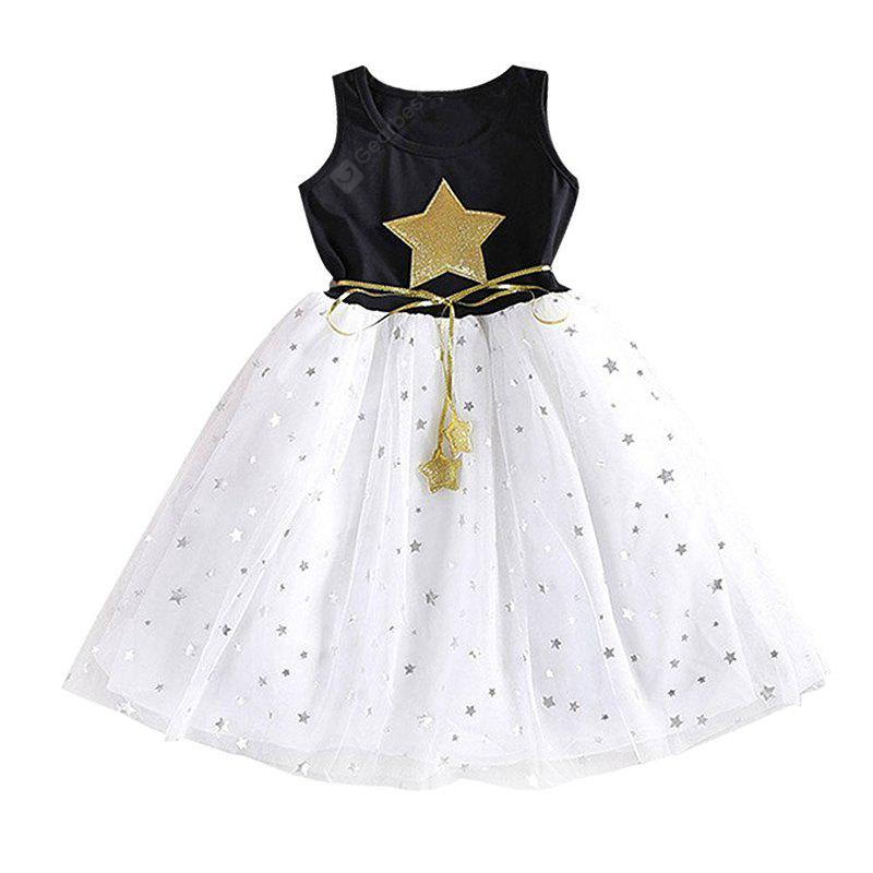 Smart Baby Girl Clothes Sequins Stars Tulle Skirts One Piece Tutu Dress