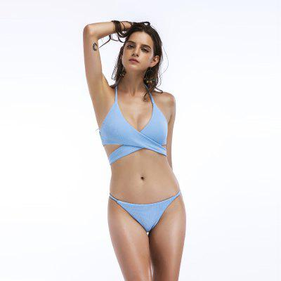 Womens Sexy Cross High Waist Bandage Bikini Set SwimsuitWomens Swimwear<br>Womens Sexy Cross High Waist Bandage Bikini Set Swimsuit<br><br>Bra Style: Minimizer<br>Elasticity: Micro-elastic<br>Gender: For Women<br>Material: Polyester<br>Package Contents: 1x Swimsuit<br>Pattern Type: Solid<br>Support Type: Wire Free<br>Swimwear Type: Tankini<br>Waist: High Waisted<br>Weight: 0.3000kg<br>With Pad: Yes