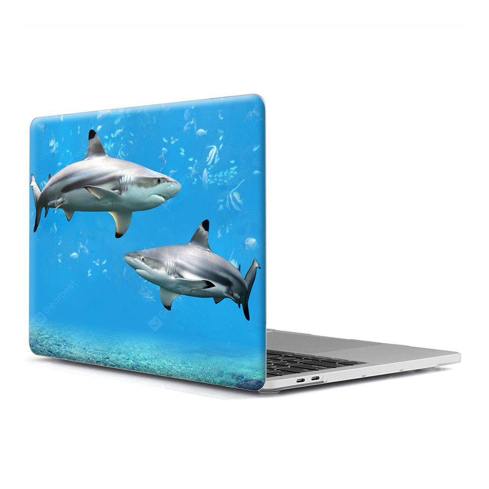 Computador Shell Laptop Case Keyboard Film para MacBook 12 polegadas 3D Marine Life1