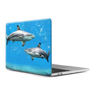 Computer Shell Laptop Fall Tastatur Film für MacBook Retina 13,3 Zoll 3D Marine Life1