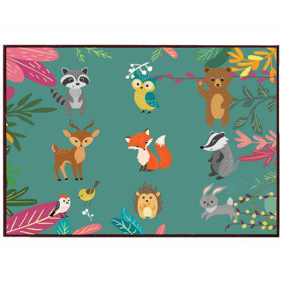 Soft Animals Door Mat Foot MatCarpets &amp; Rugs<br>Soft Animals Door Mat Foot Mat<br><br>Material: Polyester / Linen Blend<br>Package Contents: 1 x Door Mat<br>Package size (L x W x H): 61.00 x 41.00 x 2.00 cm / 24.02 x 16.14 x 0.79 inches<br>Package weight: 0.3000 kg<br>Shape: Rectangle<br>Suitable Place: Living Room,Kitchen Room,Bathroom,Bedroom,Dining Room,Kids Room,Game Room<br>Type: Modern / Comtemporary