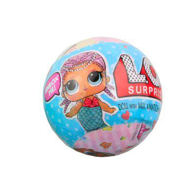 10CM Magic Funny Removable Egg Ball Doll Toy