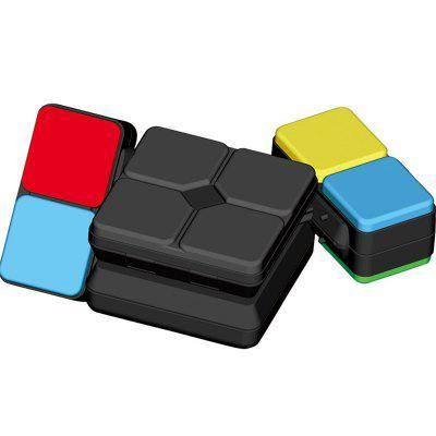 Music Variety Magic Cube Infinity Toy Spinner Electronics DIYMagic Tricks<br>Music Variety Magic Cube Infinity Toy Spinner Electronics DIY<br><br>Age: Above 8 year-old<br>Difficulty: Square<br>Material: ABS<br>Package Contents: 1 x Flipslide Game, 1 x English  Instruction Manual<br>Package size (L x W x H): 15.40 x 7.60 x 3.00 cm / 6.06 x 2.99 x 1.18 inches<br>Package weight: 0.1100 kg<br>Product weight: 0.1000 kg<br>Type: Magic Cubes