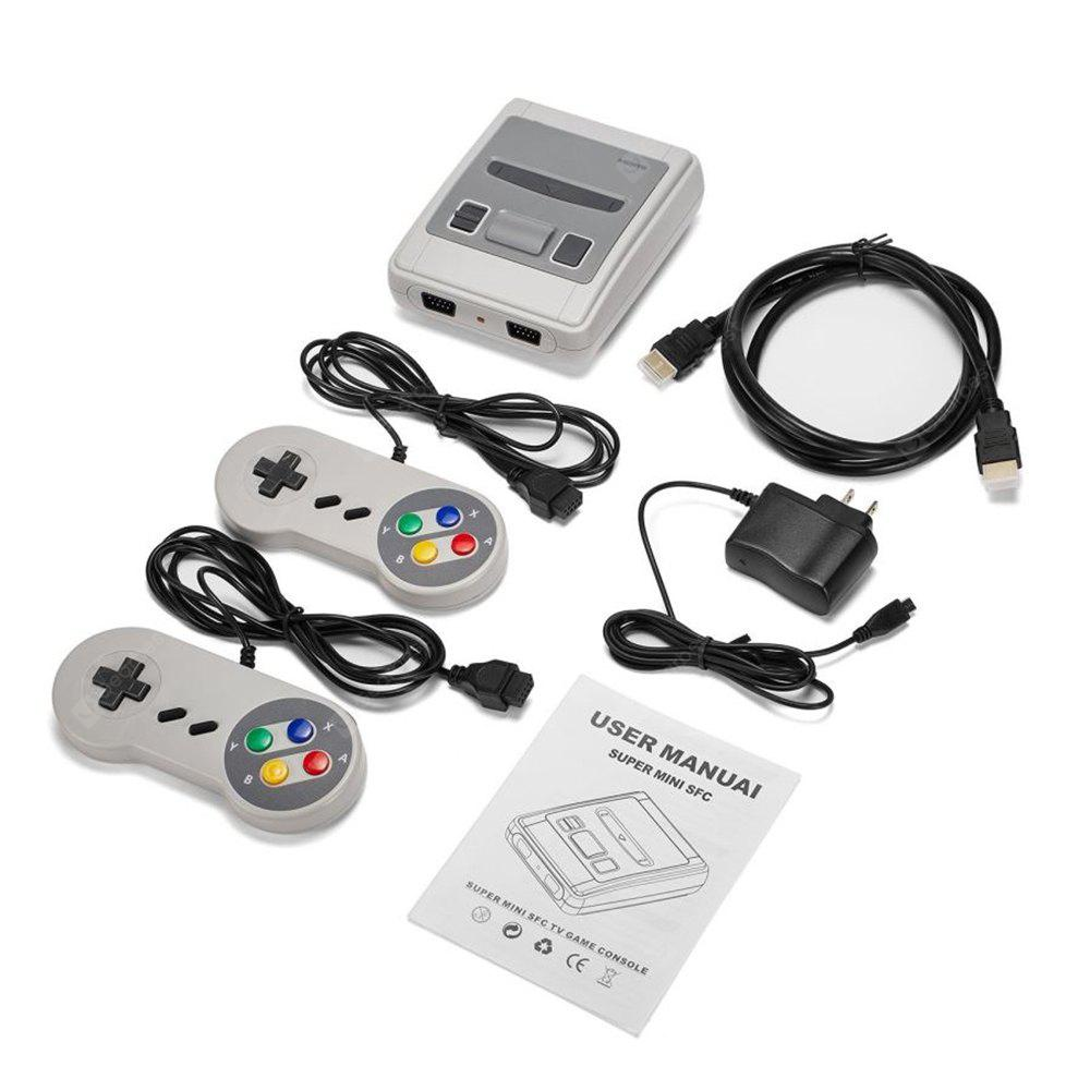 HDMI HD Version Mini TV Handheld  Game Machine Console with 621 Games Included for Family(US Plug)