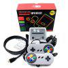 HDMI HD Version Mini TV Handheld  Game Machine Console with 621 Games Included for Family(US Plug) - GRAY
