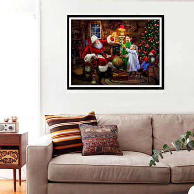 NAIYUE 9706 Christmas Print Draw 5D Diamond Painting Diamond Embroidery naiyue 7258 christmas night print draw diamond drawing