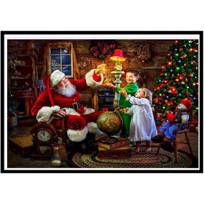 NAIYUE 9706 Christmas Print Draw 5D Diamond Painting Diamond Embroidery