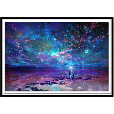 NAIYUE 9497 Ocean Sky Print Draw 5D Diamond Painting Diamond Embroidery