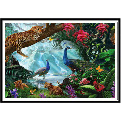 NAIYUE 9500 Animal Paradise Print Draw 5D Diamond Painting Diamond Embroidery