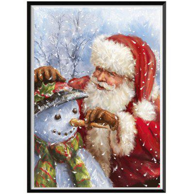NAIYUE J162 Santa Claus Print Draw 5D Diamond Painting Diamond Embroidery
