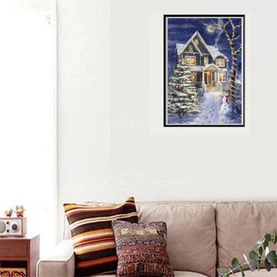 NAIYUE J163 Christmas Print Draw 5D Diamond Painting Diamond Embroidery draw it christmas 100 things you never knew you could draw