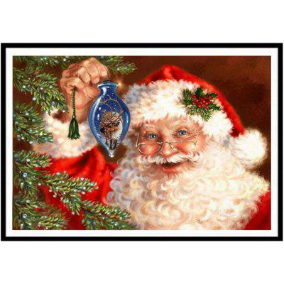 NAIYUE J703 Santa Claus Print Draw 5D Diamond Painting Diamond Embroidery