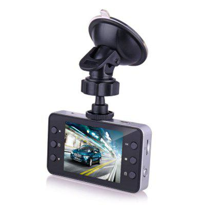 K6000 Recorder High Definition 2.6 Inch 1080P Wide Angle Car VCR Tachograph