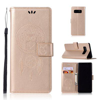 Owl Campanula Fashion Wallet Cover For Samsung Galaxy Note 8 Phone Bag With Stand PU Extravagant Flip Leather Case