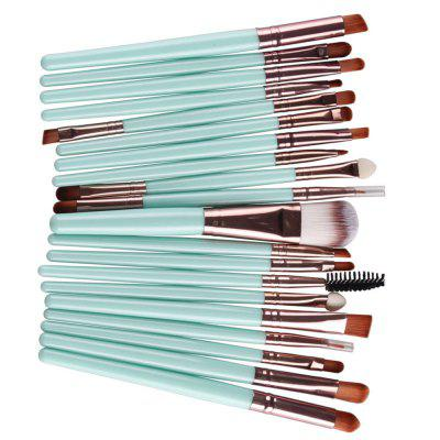 Eye Shadow Cosmetic Makeup Brush SetMakeup Brushes &amp; Tools<br>Eye Shadow Cosmetic Makeup Brush Set<br><br>Brush Material: Nylon<br>Handle Material: Wood<br>Package Content: 1 x Brush Set<br>Package size (L x W x H): 13.50 x 17.00 x 2.00 cm / 5.31 x 6.69 x 0.79 inches<br>Package weight: 0.1300 kg<br>Used With: Eye Shadow