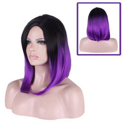 Ladies Hot Japanese Gradient Long Curly Hair Fashion Beautiful Sexy Wig