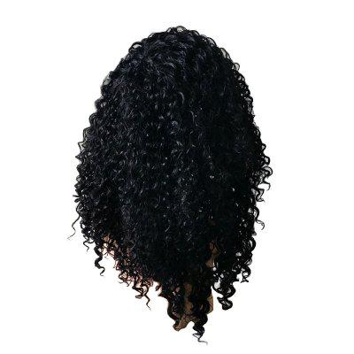 Buy BLACK Afro Lady African Curly Hair Glamor Fashion Hot Sale Wig for $38.73 in GearBest store