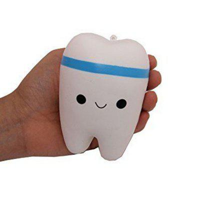 Jumbo Squishy Criativo Smiley Dente Muito Suave Lento Rising Squeeze Rare Kids Toy