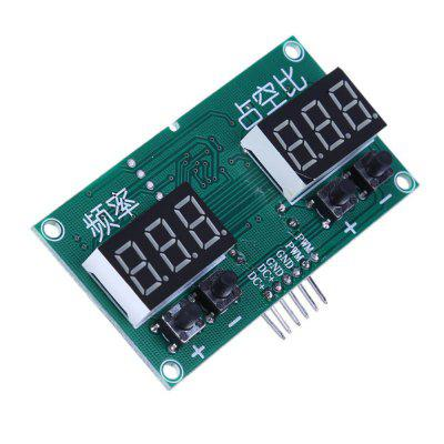 6HZ To 100KHZ DC 3.3V To 20V Square Wave Rectangular Wave Signal Generator Stepper Motor Drive Frequency Dutycycle