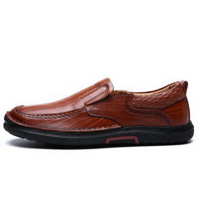 Four Seasons Leather Men Business and Leisure ShoesMen's Oxford<br>Four Seasons Leather Men Business and Leisure Shoes<br><br>Available Size: 38 39 40 41 42 43 44<br>Closure Type: Slip-On<br>Embellishment: Fur<br>Gender: For Men<br>Occasion: Casual<br>Outsole Material: Rubber<br>Package Contents: 1xshoes(pair)<br>Pattern Type: Solid<br>Season: Summer, Winter, Spring/Fall<br>Toe Shape: Round Toe<br>Toe Style: Closed Toe<br>Upper Material: Cow Split<br>Weight: 1.6896kg