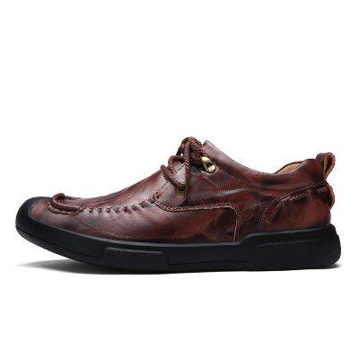 Autumn and Winter Cattle Hide Two Layers of Leather Rubber Bottom MenS Casual Leather ShoesMen's Oxford<br>Autumn and Winter Cattle Hide Two Layers of Leather Rubber Bottom MenS Casual Leather Shoes<br><br>Available Size: 38 39 40 41 42 43 44<br>Closure Type: Lace-Up<br>Embellishment: Fur<br>Gender: For Men<br>Outsole Material: Rubber<br>Package Contents: 1xshoes(pair)<br>Pattern Type: Solid<br>Season: Summer, Winter, Spring/Fall<br>Toe Shape: Round Toe<br>Toe Style: Closed Toe<br>Upper Material: Stretch Fabric<br>Weight: 1.6896kg