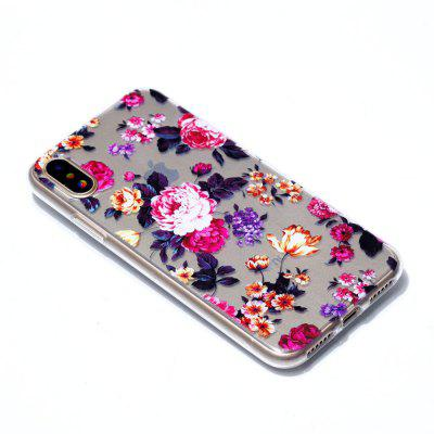 for iPhone X Colorful Flower Soft Clear TPU Phone Casing Mobile Smartphone Cover Shell CaseiPhone Cases/Covers<br>for iPhone X Colorful Flower Soft Clear TPU Phone Casing Mobile Smartphone Cover Shell Case<br><br>Features: Back Cover<br>Material: TPU<br>Package Contents: 1 x Phone Case<br>Package size (L x W x H): 18.00 x 9.00 x 1.00 cm / 7.09 x 3.54 x 0.39 inches<br>Package weight: 0.0200 kg<br>Style: Pattern