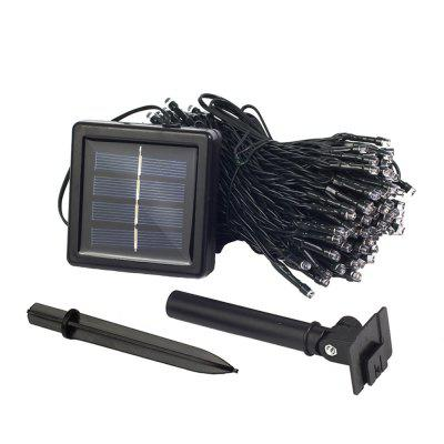 22M 200LEDs Solar Powered White Light Waterproof String Light for Christmas Outdoor DecorationOutdoor Lights<br>22M 200LEDs Solar Powered White Light Waterproof String Light for Christmas Outdoor Decoration<br><br>Beam Angle: 360 Degrees<br>Bulb Included: Yes<br>Color Temperature or Wavelength: White:6000-6500K, Warm White:2700-3200K, Blue:455-490nm<br>Features: Festival Lighting<br>LED Quantity: 200<br>Length ( m ): 20<br>Light Source: LED<br>Package Content: 1 x Holiday Solar String<br>Package size (L x W x H): 18.50 x 10.50 x 10.00 cm / 7.28 x 4.13 x 3.94 inches<br>Package weight: 0.5300 kg<br>Power Supply: Built-in battery<br>Product weight: 0.4700 kg<br>Type: String Lights, Waterproof<br>Voltage: 2V<br>Wattage (W): ?1