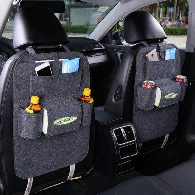 Car Storage Bag Universal Box Organizer Backseat Holder Pockets Car-styling Protector Auto Accessories