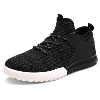 New Men Fashion Flying Fabric Casual Running ShoesAthletic Shoes<br>New Men Fashion Flying Fabric Casual Running Shoes<br><br>Available Size: 39-44<br>Closure Type: Lace-Up<br>Feature: Breathable<br>Gender: For Men<br>Outsole Material: PU<br>Package Contents: 1xshoes(pair)<br>Package Size(L x W x H): 33.00 x 20.00 x 12.00 cm / 12.99 x 7.87 x 4.72 inches<br>Package weight: 0.8000 kg<br>Pattern Type: Solid<br>Season: Spring/Fall<br>Upper Material: Microfiber