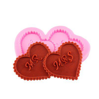Heart Shaped Silicone Cake Mold Decoration Tools Cake Chocolate Mould Baking Mold Kitchen Tools