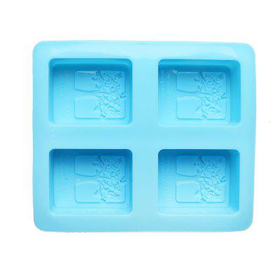 Leaf-Shaped Soap Cake Mold