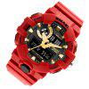 SMAEL 1642 Fashion Multi-function Waterproof  Electronic LED Watch Outdoor Sport - RED