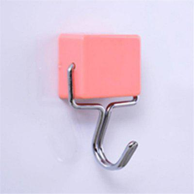 Super Suction Magnetic Hooks Stick Hook Kitchen Refrigerator Powerful Magnet Microwave Refrigerator Hanging Hooks
