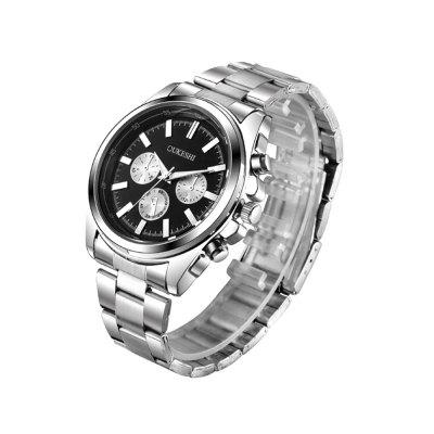 Man Stainless Steel Steel WatchMens Watches<br>Man Stainless Steel Steel Watch<br><br>Band material: Stainless Steel<br>Band size: 255mm<br>Case material: Stainless Steel<br>Clasp type: Double buckle<br>Dial size: 42mm<br>Display type: Analog<br>Movement type: Digital watch<br>Package Contents: 1 x Watch<br>Package size (L x W x H): 20.00 x 8.00 x 6.00 cm / 7.87 x 3.15 x 2.36 inches<br>Package weight: 0.0800 kg<br>Product size (L x W x H): 25.50 x 4.20 x 1.00 cm / 10.04 x 1.65 x 0.39 inches<br>Product weight: 0.0740 kg<br>Shape of the dial: Round<br>Watch style: Business, Fashion, Casual<br>Watches categories: Men