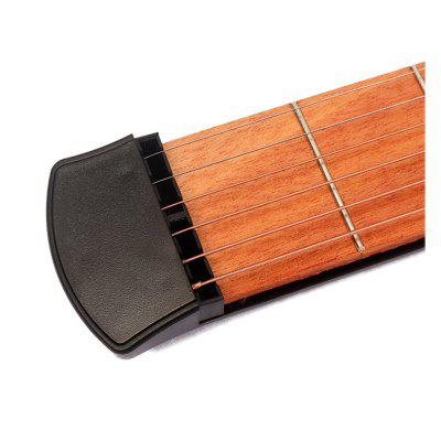 Guitar Finger Chord Conversion TrainerGuitar Parts<br>Guitar Finger Chord Conversion Trainer<br><br>Materials: Wood<br>Package Contents: 1 x Pocket guitar , 1 x Carrying bag<br>Package size: 45.00 x 5.00 x 2.50 cm / 17.72 x 1.97 x 0.98 inches<br>Package weight: 0.2000 kg<br>Suitable for: Other<br>Type: Prohands