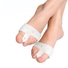 1 Pair of New Valgus Orthosis Foot Care Bone and Thumb Orthosis Scaffold Silicone Big Toe Separator