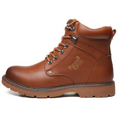"""Fashion MenS Winter Keep Warm Oxford Shoes Outdoor Casual Martin BootsMens Boots<br>Fashion MenS Winter Keep Warm Oxford Shoes Outdoor Casual Martin Boots<br><br>Boot Height: Ankle<br>Boot Type: Motorcycle Boots<br>Closure Type: Lace-Up<br>Embellishment: None<br>Gender: For Men<br>Heel Hight: Low(0.75""""-1.5"""")<br>Heel Type: Low Heel<br>Outsole Material: TPR<br>Package Contents: 1 x pair of shoes<br>Pattern Type: Letter<br>Season: Winter<br>Toe Shape: Round Toe<br>Upper Material: PU<br>Weight: 1.6500kg"""
