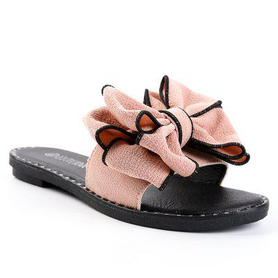 Butterfly Knot Flat Bottomed Beach Sandals
