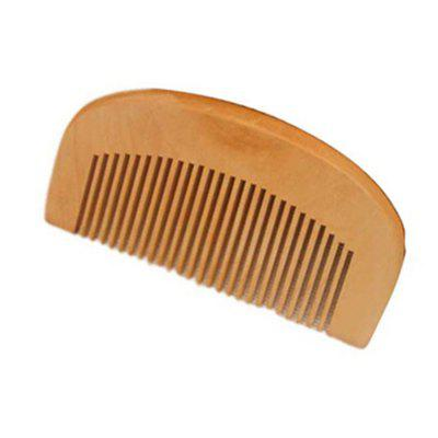 Anti-static Peach Wood Comb Hairdressing Tool for Men