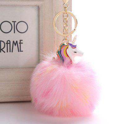 Horse Plush Keychain Fashion Bag Pendant